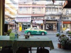 Бангкок. Кафе