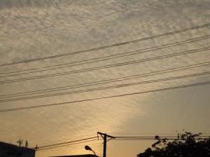 Вечернее небо Бангкока