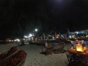 Ночной пляж. Сиануквиль!