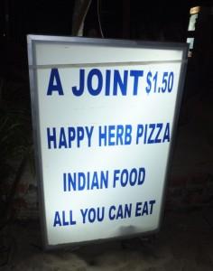 В ресторане...