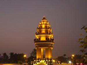 Вечерний Пном-Пень