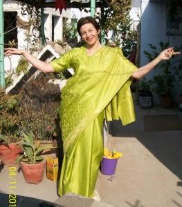 Индийское сари!