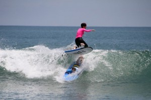 Кто сказал, что серфинг не контактный вид спорта?