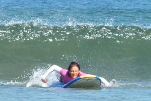 Третье занятия по серфингу!