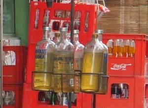 Что в бутылках?
