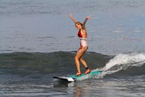 Серфинг на шпильках!!!