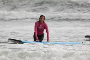 Четвертое занятие по серфингу!