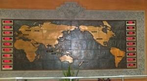 Необычная карта мира!