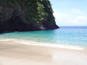 Пляжи Бали Wite sent beach, он же Virgin beach.