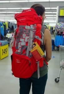 Рюкзак Quechua.