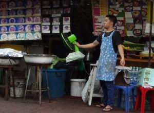 Завтрак в Бангкоке.