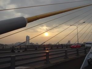 Подвесной мост. Бангкок.
