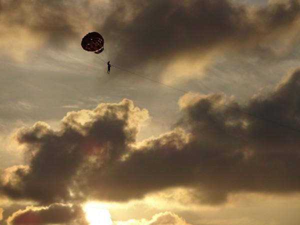 Закатное небо Пхукета.