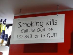 Австралийская борьба с курением.