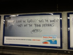 Реклама в Сиднейском метро!
