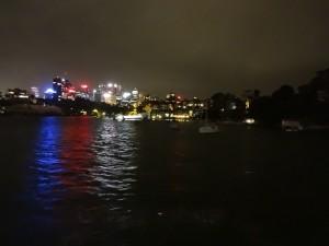 Ночной Сидней с воды!