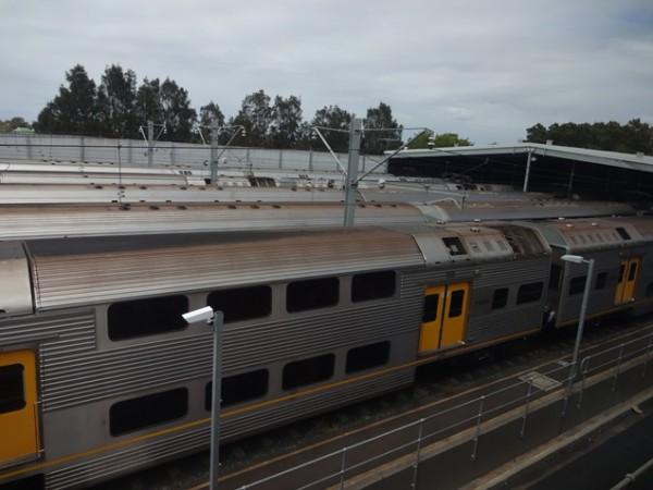 В Сиднее двухэтажное метро!