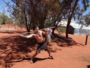 Как охотятся на кенгуру!