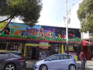 Уличная живопись в Сан-Франциско.