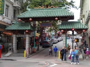 Вход в китайский квартал.
