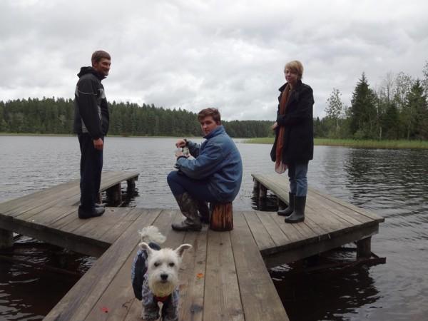 Посиделки на озере!